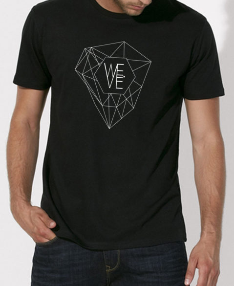 WEVE Shirt Crystal Men Black
