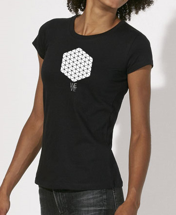WEVE Shirt Hive Woman Black