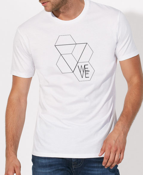 WEVE Shirt Triangle Men White