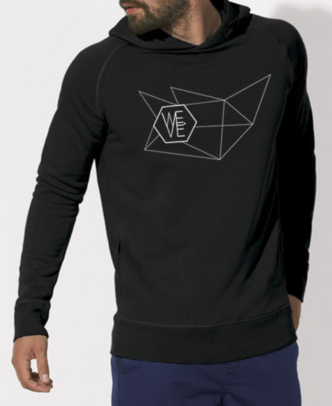 WEVE Hoodie Network Men Black