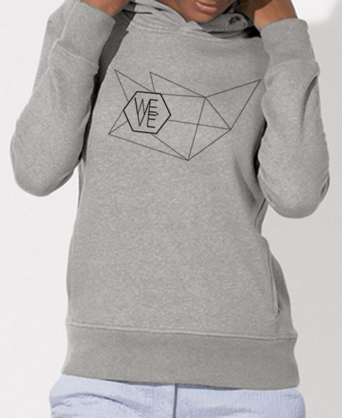 WEVE Hoodie Network Woman Heather Grey (Black)