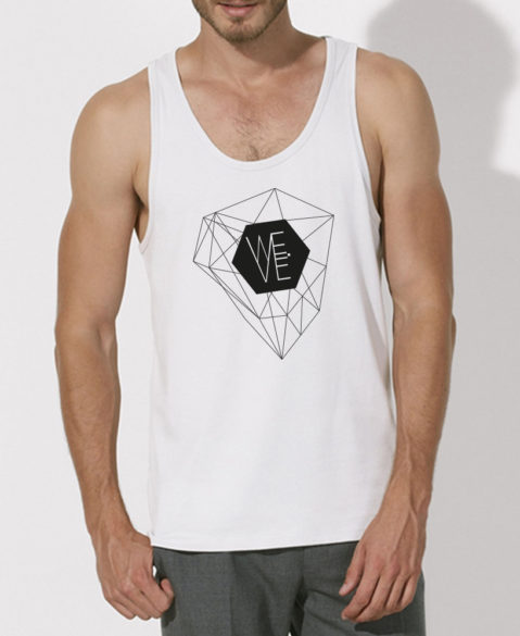 WEVE Tanktop Crystal Men White