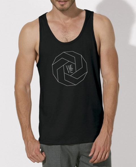 WEVE Tanktop Polygon Men Black