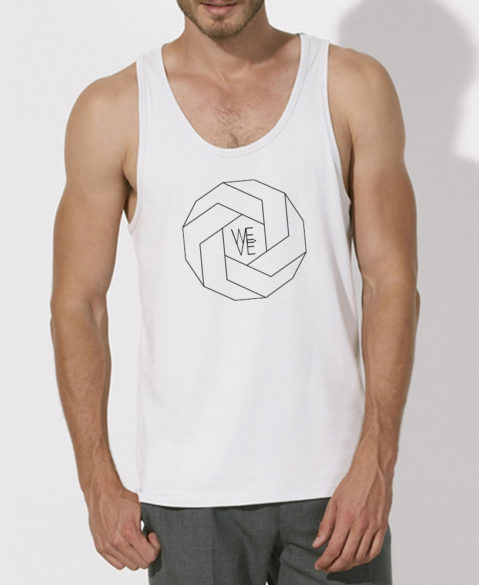 WEVE Tanktop Polygon Men White