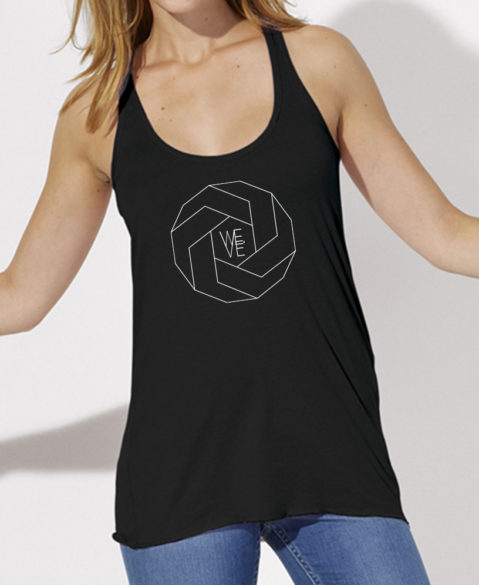WEVE Tanktop Polygon Woman Black