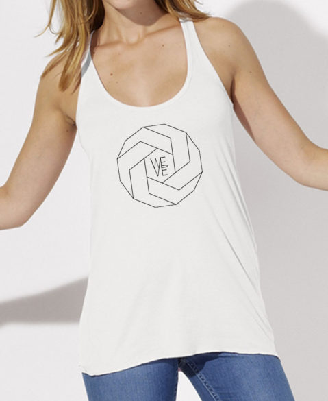 WEVE Tanktop Polygon Woman White