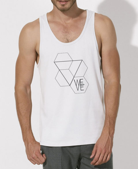 WEVE Tanktop Triangle Men White